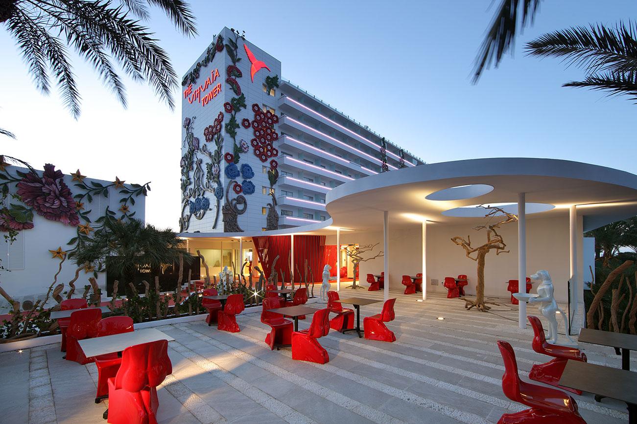 Ushuaia tower hotel ibiza estudio vila 13 for Designhotel ibiza